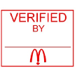 MC-AS540-EVS - English Verified Signature Stamp